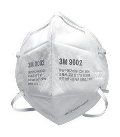 3M 9002(KN90)折叠式亚博yabo官方口罩