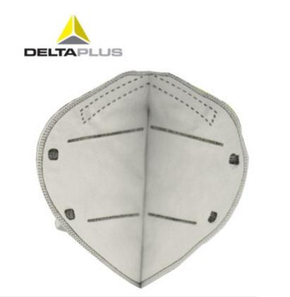 代尔塔 104011 PM2.5防尘口罩N95工业粉尘活性炭防毒口罩装修防甲醛二手烟 白色