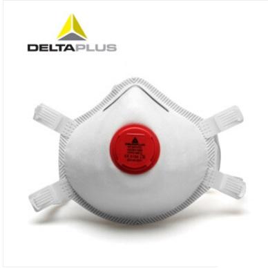 代尔塔 104019 欧标FFP3 免保养P3 防尘防雾霾PM2.5 带呼吸阀口罩