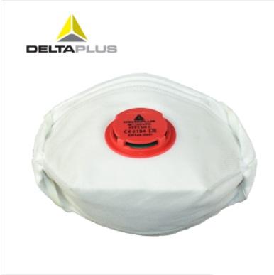 代尔塔 104106 欧标FFP3 N99防雾霾口罩 防尘 亚博yabo官方口罩 带呼吸阀
