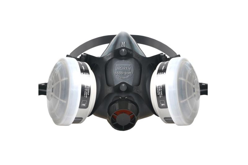 霍尼韦尔 防毒面具套装 防有机蒸汽 工业粉尘 喷漆 焊接 打磨 农药 实验室 防尘面罩 5500系列