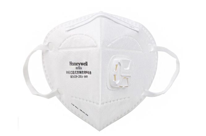 霍尼韦尔 口罩 KN95级别 防雾霾防尘 耳带折叠式带阀口罩