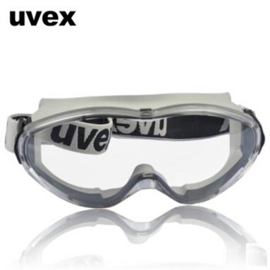 UVEX防护眼镜9002285护目镜 运动款 防雾防刮防冲击防溅射 德国优维斯ultrasonic安全眼罩 灰色