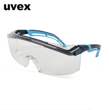 UVEX防护眼镜9064065护目镜 防刮防冲击防溅射 德国优维斯astrospec2.0安全眼镜