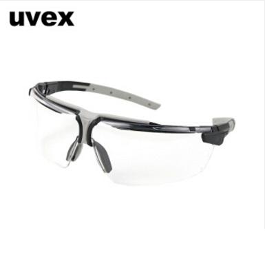 UVEX防护眼镜9190175护目镜 双面反射涂层防紫外线防冲击 德国优维斯i-3 AR安全眼镜 黑灰