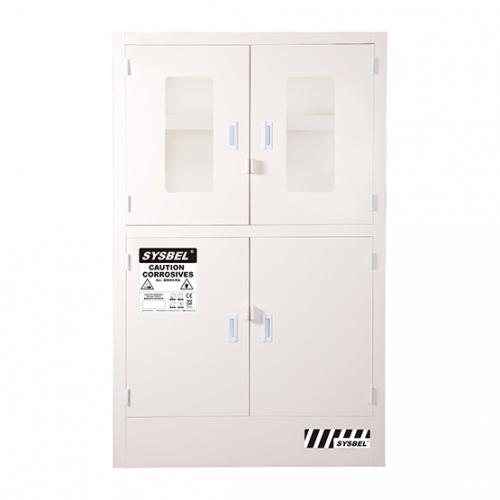 强腐蚀性化学品安全柜(带钢化玻璃窗)/耐酸碱柜(48Gal/181L)