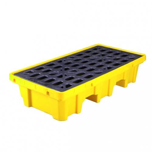 盛漏托盘|聚乙烯防泄漏托盘(两桶型)