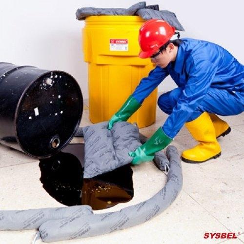 泄漏应急处理套装|95加仑泄漏应急处理桶套装(通用型)
