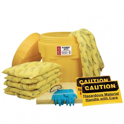 20加仑泄漏应急处理桶套装(防化类)