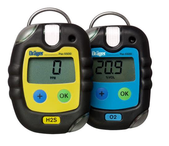 Dräger Pac® 5500   单一型 气体检测仪