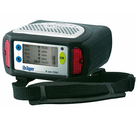 德尔格 X-am® 7000 多种气体检测设备