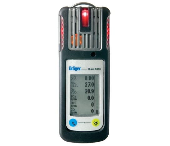 德尔格 X-am® 5600 多种气体检测设备