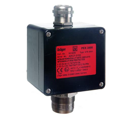 Dräger PEX 3000   固体气体检测仪