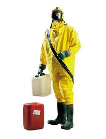 氯丁橡胶气密型化学防护服