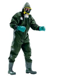通用PVC一体式防护服
