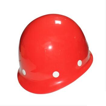 赛邦玻璃钢圆顶安全帽 CCJC红色