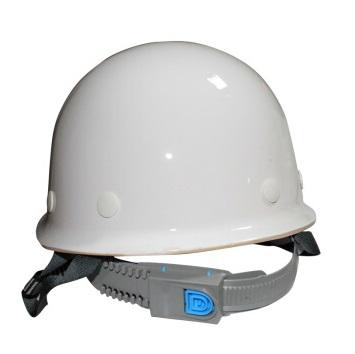 赛邦玻璃钢圆顶安全帽 CCJC白色