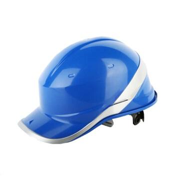 代尔塔102018安全帽 工地安全帽工程建筑绝缘施工安全帽 ABS材质无通气孔
