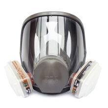 3M 防毒口罩面具全面型防护面罩(中号)6800 防有机蒸汽面罩喷漆防甲醛