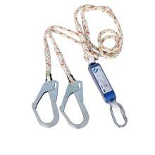3M 高空作业减震防坠落安全绳双钩连接绳需配安全带