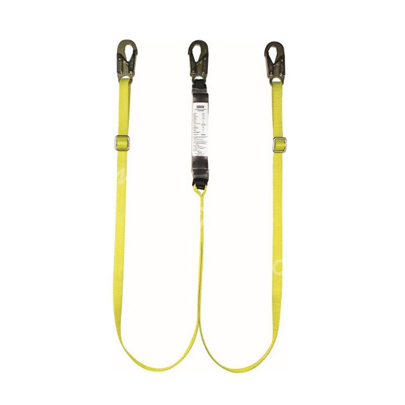 梅思安  沃克曼双腿吸震绳,长度可调节,两端均为19mm开口挂钩