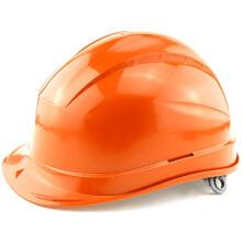 代尔塔安全帽 工地帽 工程施工电力防砸帽领导透气绝缘帽 红色