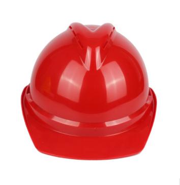【赛邦】V型ABS材质 带透气孔防水槽防护帽 工地劳保安全帽